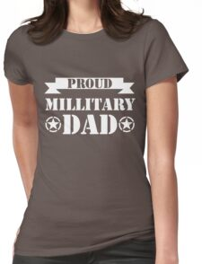 fathers day gift military grandad Womens Fitted T-Shirt