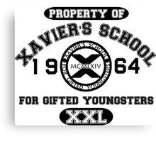 X-MEN XAVIER´S SCHOOL Canvas Print