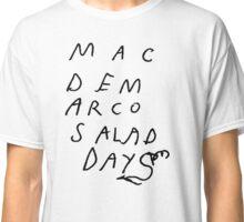 Mac Demarco Salad Days logo Classic T-Shirt