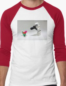 Storm Trooper Photographer Men's Baseball ¾ T-Shirt
