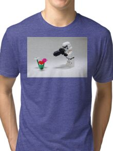 Storm Trooper Photographer Tri-blend T-Shirt