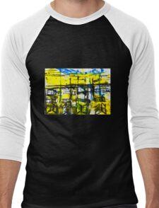 Buildings III Men's Baseball ¾ T-Shirt