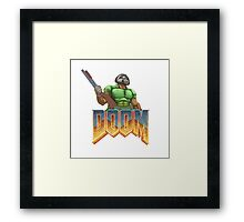 DOOM SPACE MARINE (1) Framed Print
