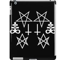 Satanic Lines iPad Case/Skin