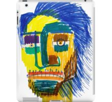 Marker Face iPad Case/Skin