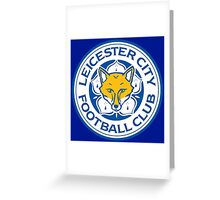 HOT ITEM LEICESTER CITY LOGO - 01 Greeting Card