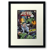SheVibe Presents - Tantus in 007 Inches: The Uncut Protocol Cover Art Framed Print
