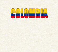 Colombia Flag Zipped Hoodie