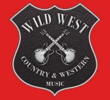 Wild West Country Western Music   One Piece - Short Sleeve