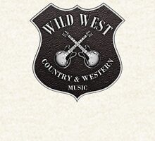 Wild West Country Western Music   Hoodie