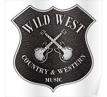 Wild West Country Western Music   Poster