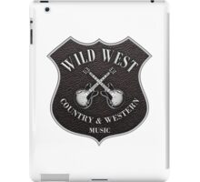 Wild West Country Western Music   iPad Case/Skin