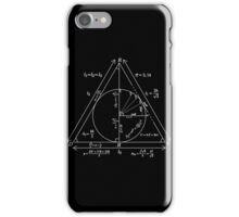 Mathly Hallows (Clean Version) iPhone Case/Skin
