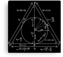 Mathly Hallows (Clean Version) Canvas Print