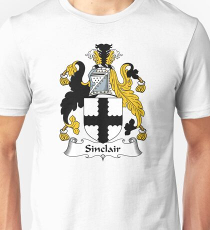 Sinclair Coat of Arms / Sinclair Family Crest Unisex T-Shirt