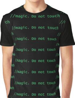 Magic. Do not touch Graphic T-Shirt