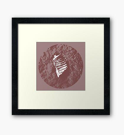MOON PRINT  apollo 11 Framed Print