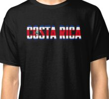 Costa Rica Flag Classic T-Shirt