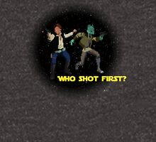 Who Shot First? Unisex T-Shirt