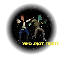 Who Shot First? Photographic Print