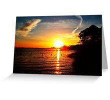 Land Sea Sky Greeting Card