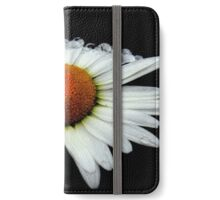 A Simple White Daisy  iPhone Wallet/Case/Skin