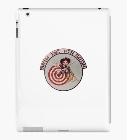 36th Fighter Squadron iPad Case/Skin
