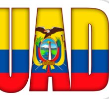 Ecuador Flag Sticker