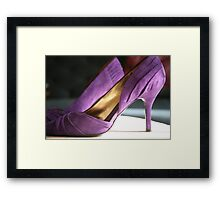 For the love of shoes ..... Framed Print