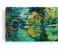 Blue Lake Canvas Print