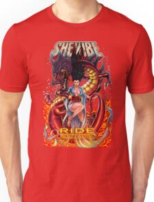 SheVibe Ride BodyWorx by Sliquid Cover Art Unisex T-Shirt