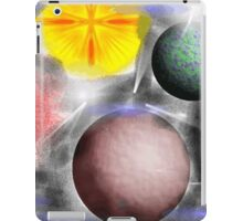 Abstract Space iPad Case/Skin