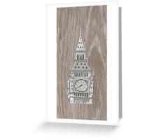 Big Ben Greeting Card