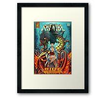 SheVibe Ride BodyWorx by Sliquid Cover Art Framed Print