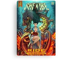 SheVibe Ride BodyWorx by Sliquid Cover Art Canvas Print