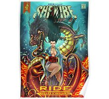 SheVibe Ride BodyWorx by Sliquid Cover Art Poster