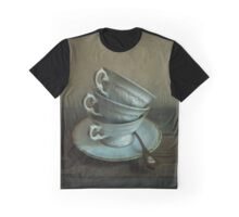 White ornamented teacups Graphic T-Shirt
