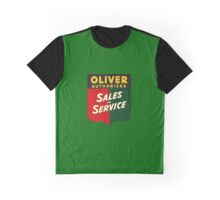 Oliver Tractors and Equipment Graphic T-Shirt
