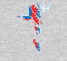 Flag Map of Faroe Islands  Unisex T-Shirt
