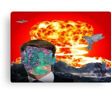 War of the Minds Canvas Print