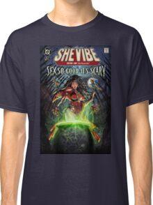 SheVibe Sliquid Cover Art Classic T-Shirt
