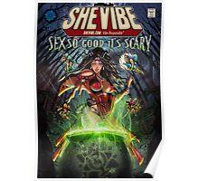 SheVibe Sliquid Cover Art Poster