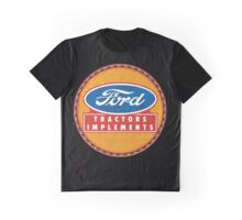 Ford Tractors and Equipment Graphic T-Shirt
