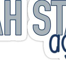 Utah State University Sticker