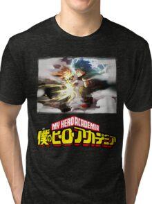 My Hero Academia - Midoriya Vs Bakugou Tri-blend T-Shirt