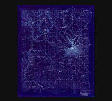 USGS TOPO Map Alabama AL Montgomery 305463 1927 48000 Inverted Unisex T-Shirt