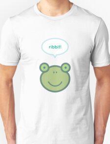 Ribbit! Frog Unisex T-Shirt