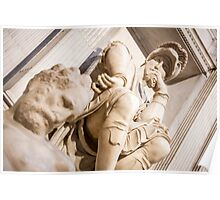 Michelangelo's sculpture Poster