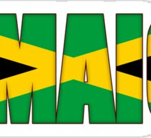 Jamaica Flag Sticker