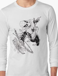 The Amazing Spider-Man art Long Sleeve T-Shirt